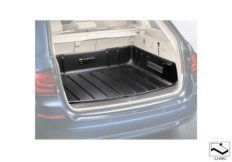 Luggage compartment pan
