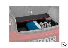 Trunk well tray, Urban/basic