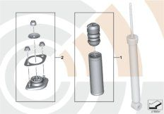 Repair kit for support bearing