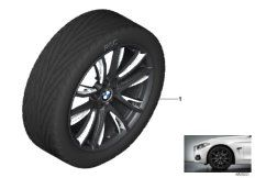 19' compl. summer wheels set: light alloy rims, tires Pirelli P Zero RF