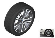 20' compl. summer wheels set: light alloy rims, RDC sensor, tires Dunlop SP Sport Maxx GT ROF