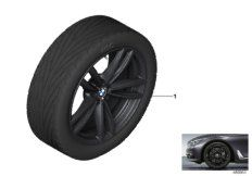 19' compl. summer wheels set: light alloy rims, RDC sensor, tires Hankook S1 evo2 HRS